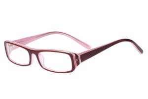 Red,Fullrim,Rectangle,Acetate eyeglasses - Z80AB029C50