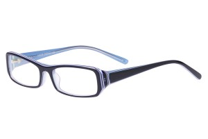 Blue,Fullrim,Rectangle,Acetate eyeglasses - Z80AB029C52