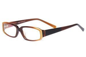 Brown,Fullrim,Rectangle,Acetate eyeglasses - Z80AB031C80