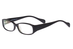 Black,Fullrim,Rectangle,Acetate eyeglasses - Z80HX055C11