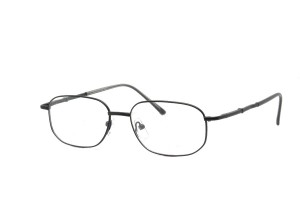 Black,Fullrim,Rectangle,Metal alloy eyeglasses *** Eligible for 7-day Expedited Service ***  - ZMRSK9096-BK