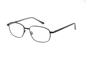 Black,Fullrim,Rectangle,Metal alloy eyeglasses *** Eligible for 7-day Expedited Service ***  - ZMRSK9107-BK