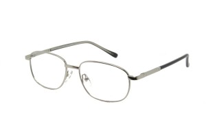 Silver,Fullrim,Rectangle,Metal alloy eyeglasses *** Eligible for 7-day Expedited Service ***  - ZMRSK9107-S