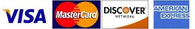we accept VISA,MASTER,AMEX,DISCOVER