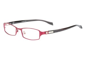 Purple/black,Fullrim,Rectangle,Metal alloy eyeglasses - Z05340C8