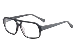 Black,Fullrim,Aviator,Acetate eyeglasses - Z66829C6