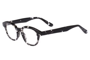Black/clear,Fullrim,Wayfarer,Acetate eyeglasses - Z676041C103